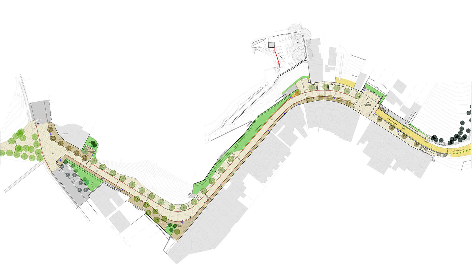 Redacción del proyecto ejecutivo de urbanización del Carrer Mühlberg