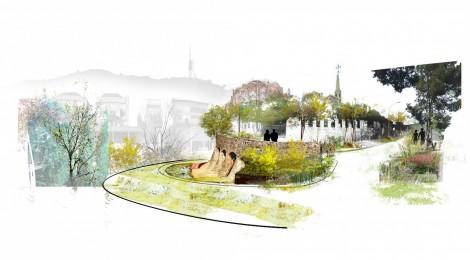 Enraizar Collserola - primer premio ex-aequo en la Puerta de Bellesguard del concurso Les 16 Portes de Collserola, 2012